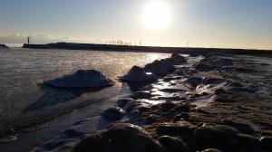 31st - Ice boulders